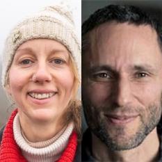 Gail Bradbrook und Charles Eisenstein